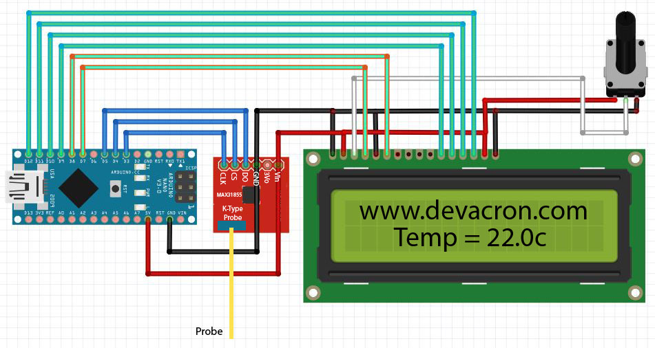 K type thermometer with lcd in arduino nano devacron lcd thermometer ktypecircuit asfbconference2016 Images