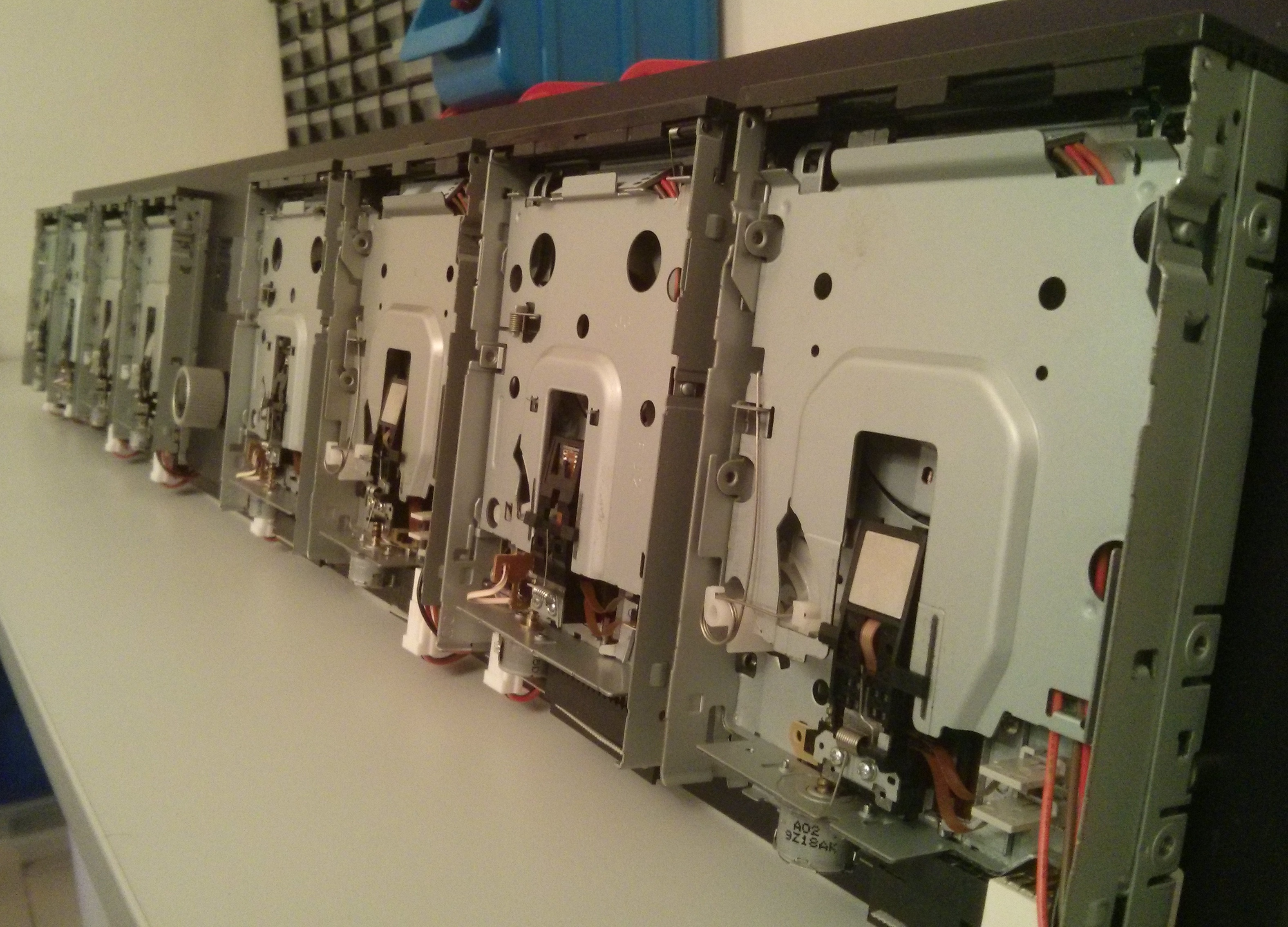 floppy disk jukebox