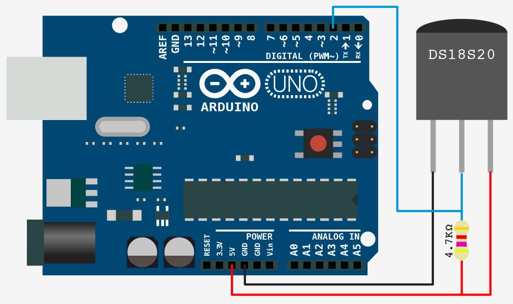 DS18S20_arduino