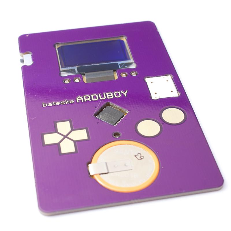 Arduboy the interactive business card devacroncom for Tetris business cards