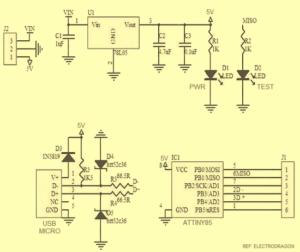 Circuit-ATtiny85